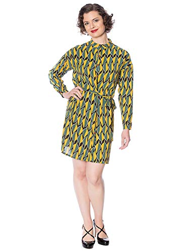 Banned Retro dames blousjurk 20's shirt Dress DR16146