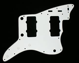(B03) Custom Guitar Pickguard Fits Jazzmaster ,3ply White