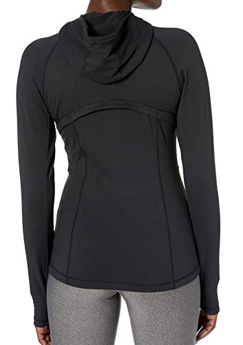 VUTRU Women's Full Zip Hoodie Jacket Slim Fit Hooded Workout Track Running Jacket with Zip Pockets