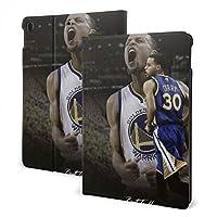 Stephen Curry バスケットボール ipad 7th /ipad air3スマートタブレット ケース カバー 傷つけ防止 超軽量 手帳型 保護カバー スタンド機能付き 衝撃吸収 PUレザー