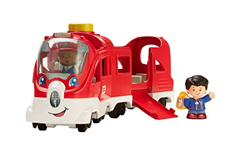 Fisher-Price FKW86 Little People Zug interaktive Eisenbahn mit Licht Geräuschen und Liedern, ab 12 Monaten deutschsprachig