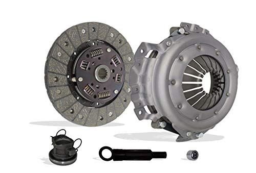 Clutch Kit Compatible With Tj Wrangler Cherokee Base Se Rio Grande S Sport Utility 2-Door 1994-2002 2.5L 150Cu. In. l4 GAS OHV Naturally Aspirated (4 CylindersL4, 2.5L; 01-040)