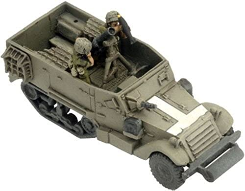Flames of War Model - M3 D 120mm Mortar Platoon Halftrack - AIS204 - New by Fate of a Nation