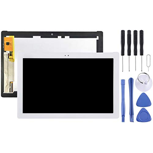 MDYHMC CLB Pantalla LCD y digitalizador Asamblea AYS Completa for ASUS ZenPad 10 Z300 Z300CL Z300CNL P01T (Amarillo Cable Flexible Version) (Color : Color2)