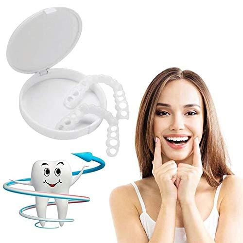 Perfect Smile Cosmetic Fake Tooth Sofortiger Clip auf Furnieren Einfach zu verwenden Instant Natural Whitener Care Oral Snap on Smile