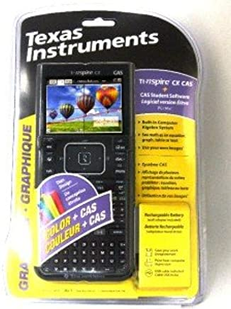 $243 » Texas Instruments TI NSPIRE CX CAS GRAPHING Calculator with Full Color Display