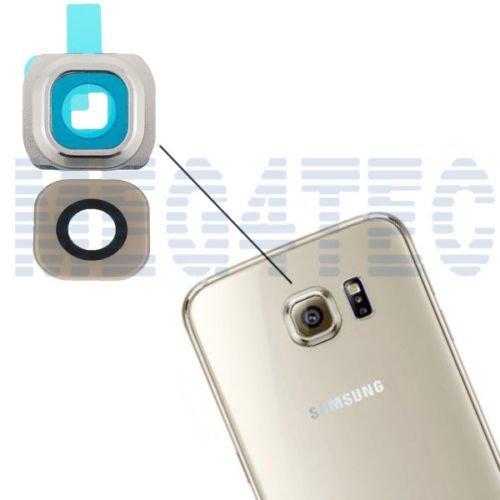Generic Ersatz-Kameraabdeckung für Samsung Galaxy S6 G920F, Platin-Glas, goldfarben