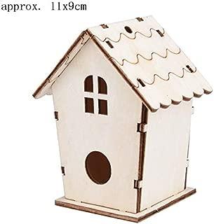 Best Quality Diy Nest Dox House Bird Birdhouse Wooden Box Outdoor Birds Warm Arrival, Bird Bird House - Large Wooden Birdhouse, Garden Birdhouses, Hanging Wood Birdhouse, Decorative Birdhouse