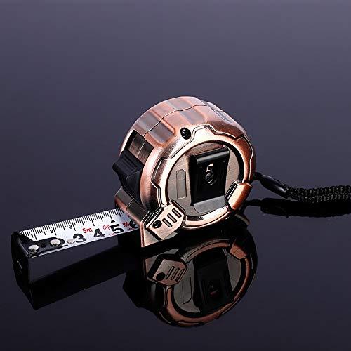 No barnd Messwerkzeug Verschleiß wasserdicht Nylon Tape 5m Stahlband Elektronische Digital-Schieber mit extra großen LC (Größe : 5m)