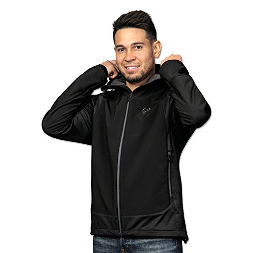 Borussia Dortmund BVB-Softshelljacke Advanced Black/Grey L