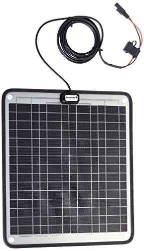 NOW 20 Watts. Trolling Motor 24V battery charger- 1/2 Amp Trickle Solar Charger - Self Regulating - Boat Marine Solar Panel - No experience Plug & Play Design. Dimensions 14.1 in x 15.7 W x 1/4