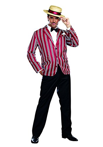 Dreamgirl Men's Good Time Charlie 1920s Style Costume, Multi, Medium