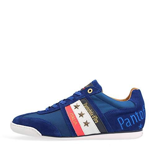 Pantofola d'Oro Baskets Low Soverato Uomo Low pour homme, Olympian Blue 10211032 Hfq, 43 EU