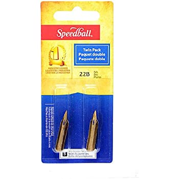 Speedball Hunt Artists' Pen Nibs-Extra Fine No. 22-B Pack of 2