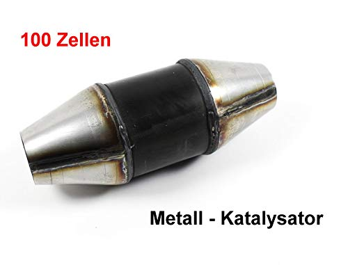 Kat 100 Zeller 60-76mm 120mm Ø EDELSTAHL Rennkat Sportkat Katalysator 1028005