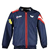 Butterfly USA Team Table Tennis Tracksuit 19 - Official Team USA Tracksuit, USATT - Training Warm up Suit – USA Proud - Track Jacket - Track Pants - Navy, Medium
