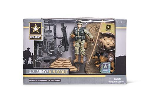 United States Army K9 Playset