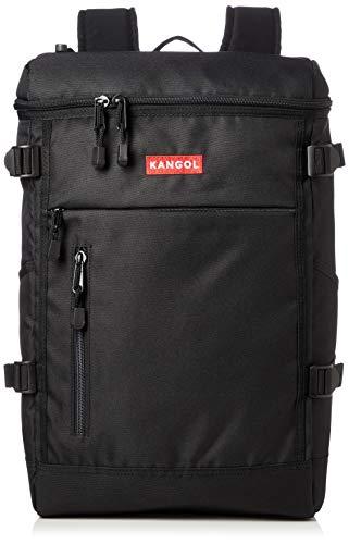 [カンゴール] リュック KANGOLボックスロゴ刺繍 ボックス型 軽量多機能 PC収納 レッド One Size