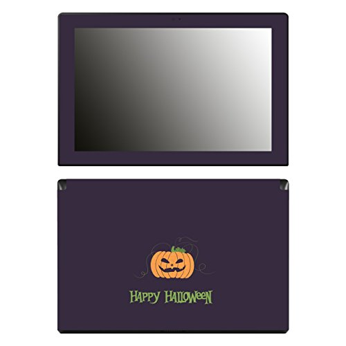 'Disagu SF 106492_ 1221Design Screen Protector for Lenovo Miix 31030–10.1inch Full HD IPS Display Tablet–Halloween–pumpkin 03Clear