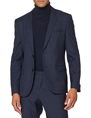 HUGO Arti/Hesten204 Suit - Conjunto de Vestido, Azul Oscuro (402), 52 para Hombre