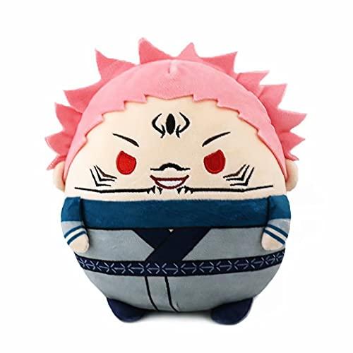 Jujutsu Kaisen Llavero de Juguete de Felpa Inumaki Toge Gojo Satoru Peluches de Peluche Lindos muñecos de Peluche Suave Anime Cosplay Figura Juguete Regalo de cumpleaños