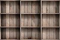 Amxxy 写真撮影のための7x5ftビニール木の板の背景ヴィンテージ木の板本棚写真の背景新生児教師学者大人の肖像画壁紙パーティーイベント装飾写真スタジオ小道具