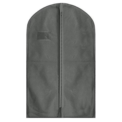 hoesh International grau atmungsaktiver Anzug Bezüge 137,2cm (136cm), inklusive Druck., grau, 24 x 54 inches, Packs of 5
