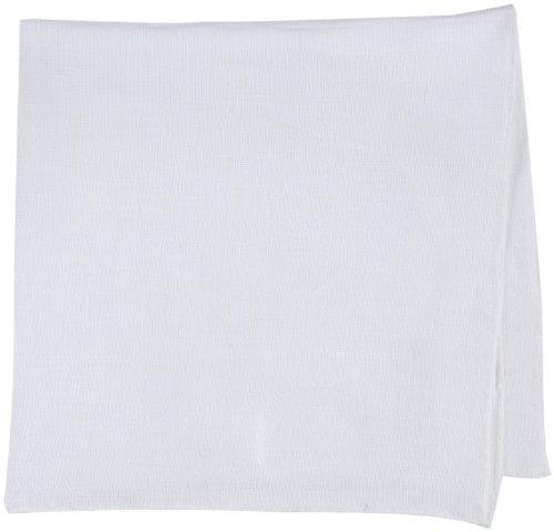MUNGAI(ムンガイ)『ポケットチーフ メンズ E7 ホワイト』