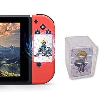 [Latest Version] 24Pcs The Legend of Zelda Breath of The Wild TLOZ NFC Game Cards Link s Awakening Zelda Botw Game Rewards Cards Compatible with Switch/Lite Wii U