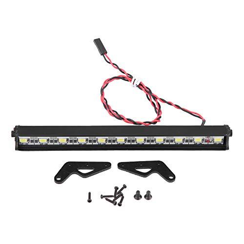 LED-lichtbalkset, 150 mm metalen daklicht voor RC-autoaccessoires op schaal 1:10