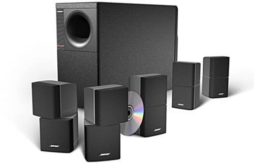 Bose 6-Piece Home Theater Speaker System(Black) (AM10IIBLK)