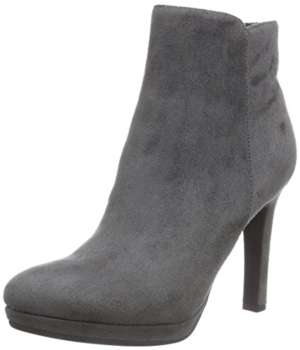 Buffalo Shoes Damen Y436-51B P1804F IMI Suede Kurzschaft Stiefel, Grau (Grey 10), 38 EU