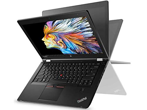 Lenovo ThinkPad P40 Yoga Intel Core i7-6500U 8GB DDR3L 1600MHz 256GB SSD 14' Full HD IPS Touch Display (Renewed)