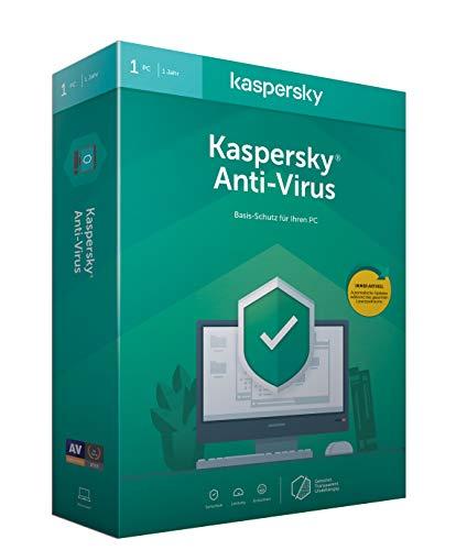 Kaspersky Anti-Virus 2020 Standard | 1 Gerät | 1 Jahr | Windows | Aktivierungscode in Standardverpackung