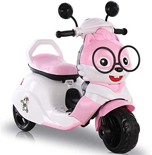FEE-ZC Kid Safety Kids Ride on Motorcycle, Moto de 3 Ruedas, Triciclo...