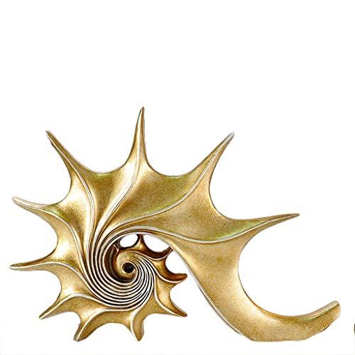 NHLBD Home decoratie/Feng Shui tafel Creatieve Conch Decoratie Familie Interieur Baai Raam Model Kamer Koffie Shop Slaapkamer Persoonlijkheid Klein geschenk Van De Zee messing