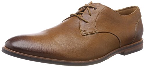 Clarks Broyd Walk, Zapatos de Cordones Derby para Hombre, Marrón (Tan Leather),...