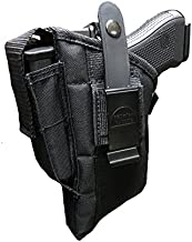 Pro-Tech Outdoors Gun Holster for Smith and Wesson with Laser fits Models 39,59,99,411,439,459,539,559,639,659,909,915,3904,3906 See Inside for More.