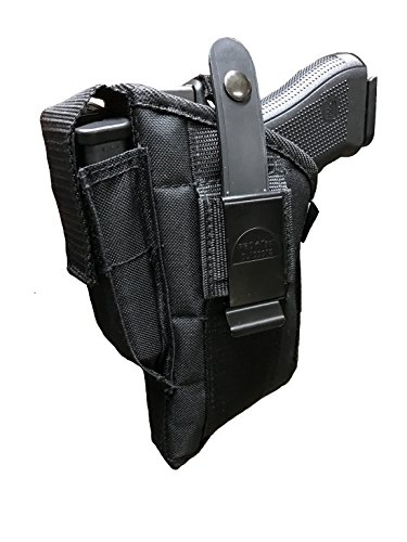 Pro-Tech Outdoors Nylon Side Holster Fits Taurus 24/7, PT-58, PT-92c, PT-911, PT-938 with Laser or Tactical Light