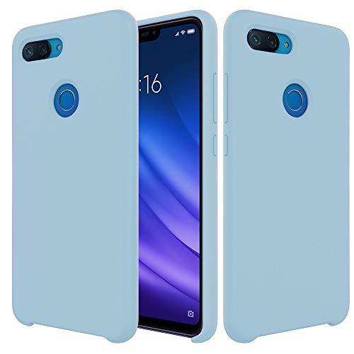 Pacyer Funda Compatible conXiaomi Mi 8 Lite, Ultra Suave TPU Gel de Silicona Case Protectora Suave Flexible teléfono Absorción de Impacto Elegante Carcasa Compatible Xiaomi Mi 8 Lite