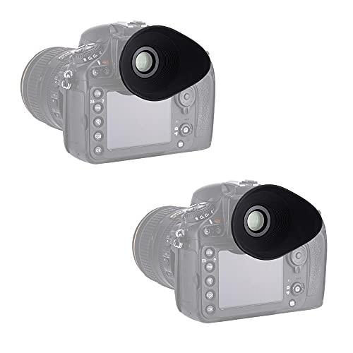 PROfezzion Visor de ojos suave y grande con cristal óptico para Nikon...
