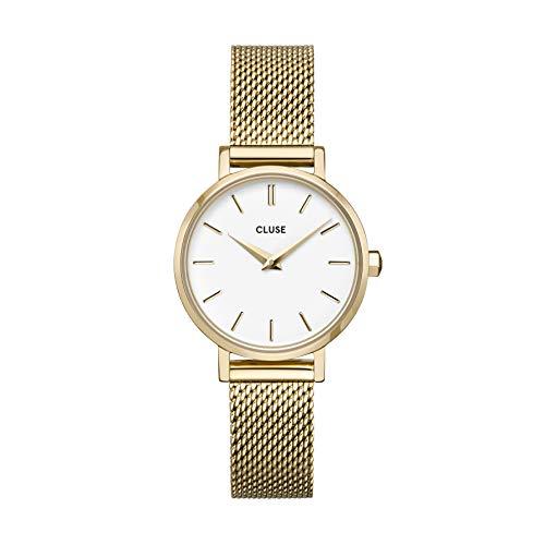 Reloj Solo Tempo de mujer Cluse Boho Chic. Correa de acero color oro Cw0101211001