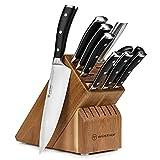 Wusthof Classic Ikon 10 Piece Knife Set with Acacia Block
