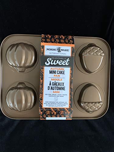 Nordic Ware Mini Cakes Treat Pan Bronze