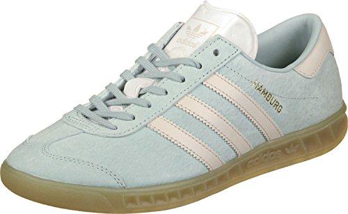 adidas Hamburg W, Zapatillas de Deporte Mujer, (Vertac/Marcla / Gum4), 45 1/3 EU
