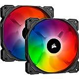 Corsair iCUE SP140 RGB Pro Performance 140mm Dual Fan Kit with Lighting Node Core