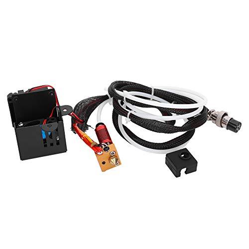 Kit completo de boquillas para extrusora Hot End, accesorios de impresora 3D para CR-10 10S con juego de boquillas, para impresora 3D Creality CR-10S Pro