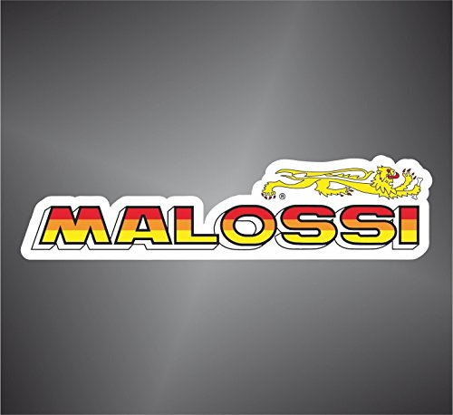 Adesivo Malossi Moto GP Superbike Motorcycle Bikers Sticker