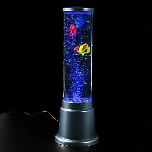 FISH BUBBLE LAMP - Home Decor - 1 Piece