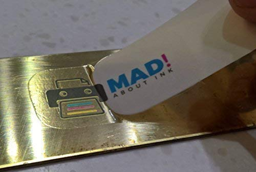 Madaboutink Clear Waterslide Decal carta transfer per stampanti laser e fotocopiatrici, 5x fogli A4
